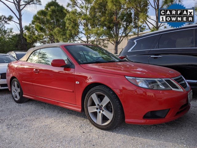 2011 Saab 9-3 2dr Conv FWD LASER RED Bucket Seats