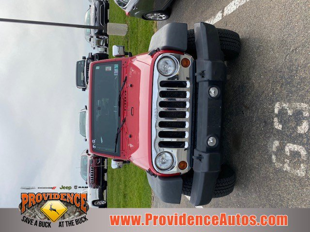 2011 Jeep Wrangler 4WD 2dr Sport FLAME RED ABS 6R2 ORDER CODE