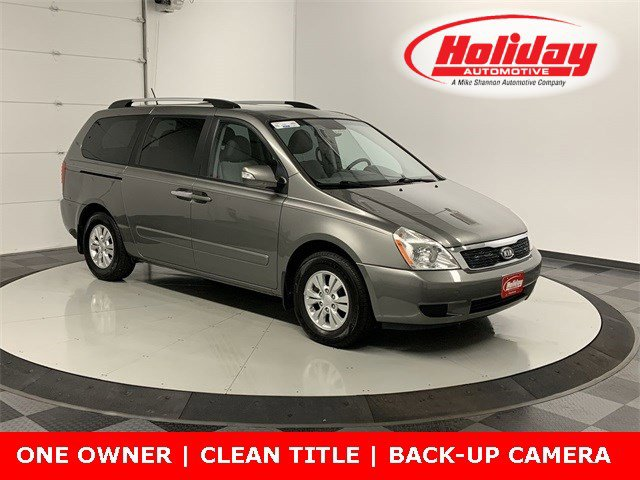 2012 Kia Sedona 4dr Wgn LX GRAY Bucket Seats Brake Assist