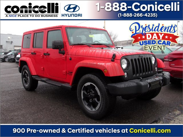 2014 Jeep Wrangler Unlimited 4WD 4dr Altitude Firecracker Red