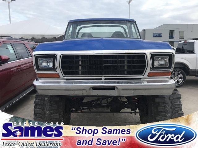 1978 Ford Bronco BLUE