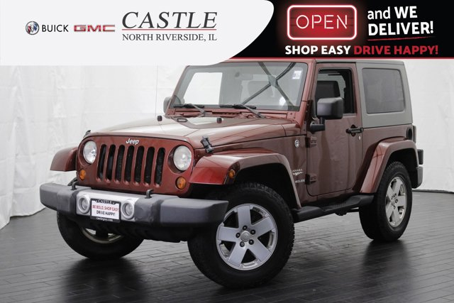 2008 Jeep Wrangler 4WD 2dr Sahara RED ROCK CRYSTAL PEARL