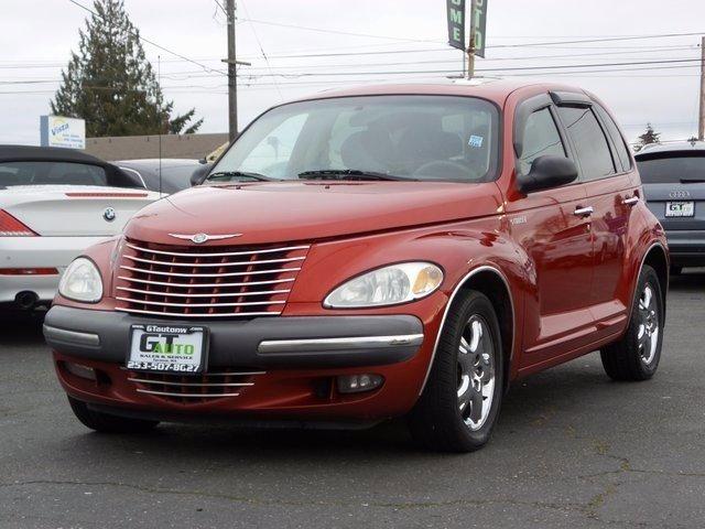 2001 Chrysler PT Cruiser 4dr Wgn INFERNO RED TINTED PEARLCOAT