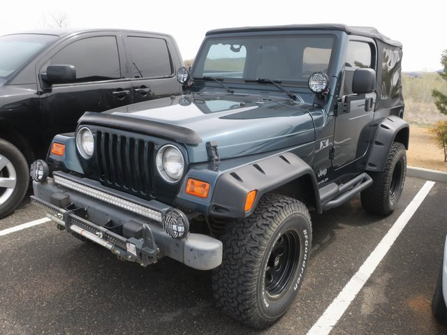 2005 Jeep Wrangler 2dr X GREEN Intermittent Wipers