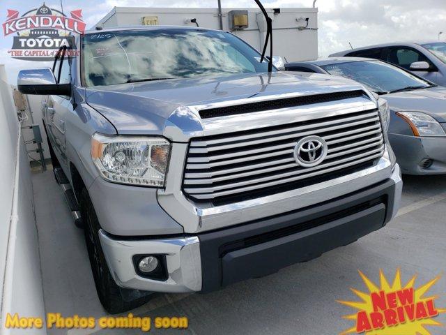 2014 Toyota Tundra 2WD Truck CrewMax 5.7L V8 6-Spd AT LTD GRAY