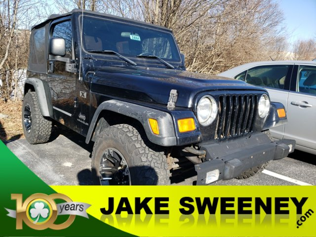 2005 Jeep Wrangler 2dr X BLACK Intermittent Wipers