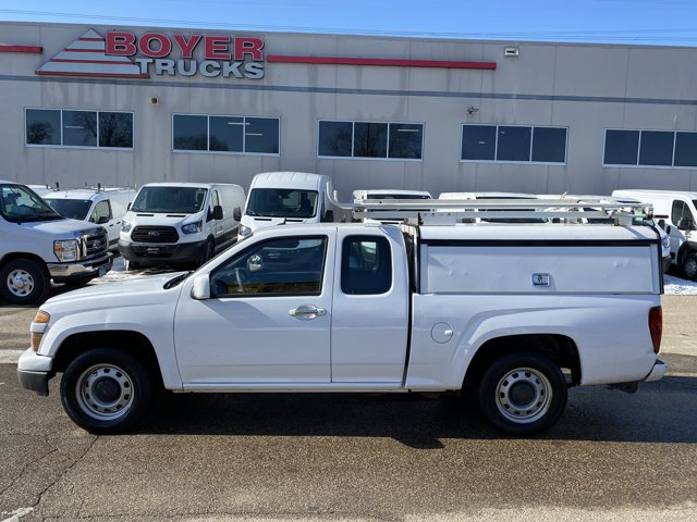 2012 Chevrolet Colorado 2WD Ext Cab Work Truck SUMMIT WHITE