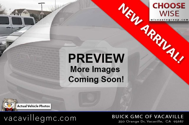 2015 GMC Sierra 3500HD 4WD Crew Cab 167.7 Denali SUMMIT WHITE