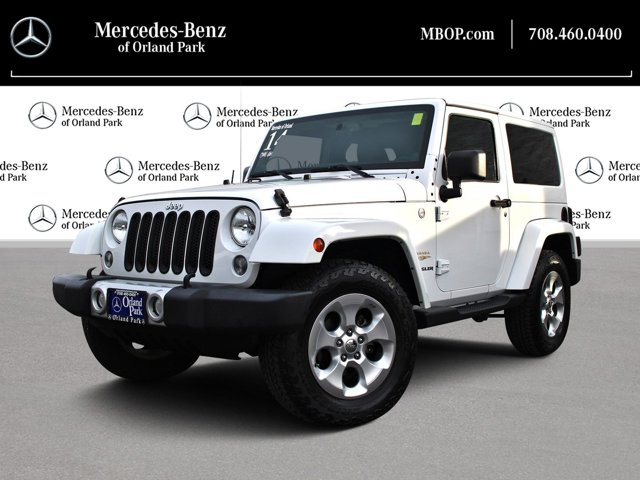 2014 Jeep Wrangler 4WD 2dr Sahara BRIGHT WHITE CLEARCOAT