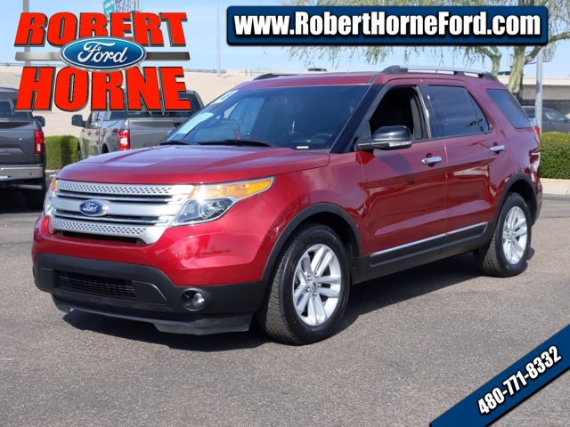 2014 Ford Explorer FWD 4dr XLT RED Bucket Seats
