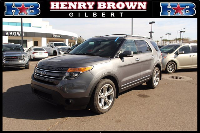 2014 Ford Explorer 4WD 4dr Limited BLUE Auxiliary Audio Input
