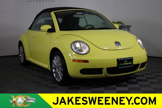 2008 Volkswagen New Beetle Convertible 2dr Auto SE YELLOW