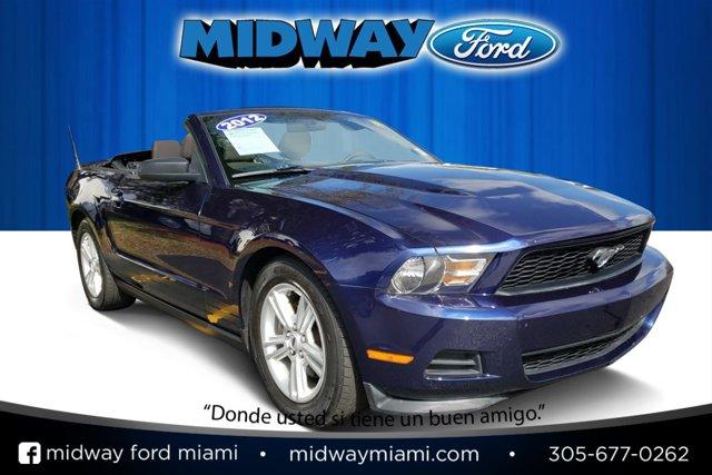 2012 Ford Mustang 2dr Conv V6 KONA BLUE METALLIC