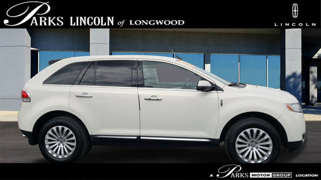 2013 Lincoln MKX AWD 4dr WHITE Bluetooth Connection