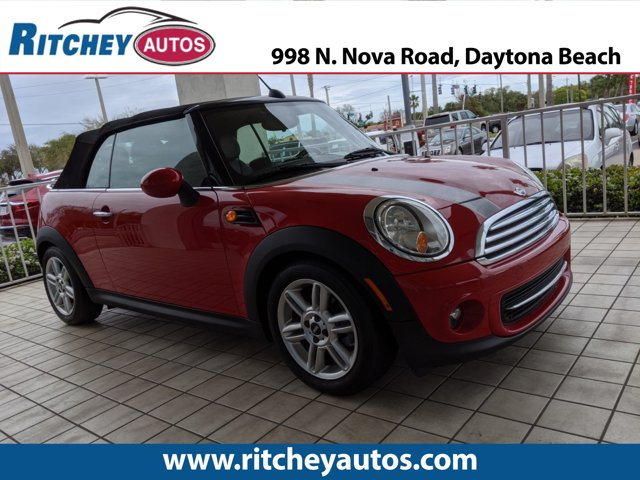 2012 MINI Cooper Convertible 2dr RED Cruise Control