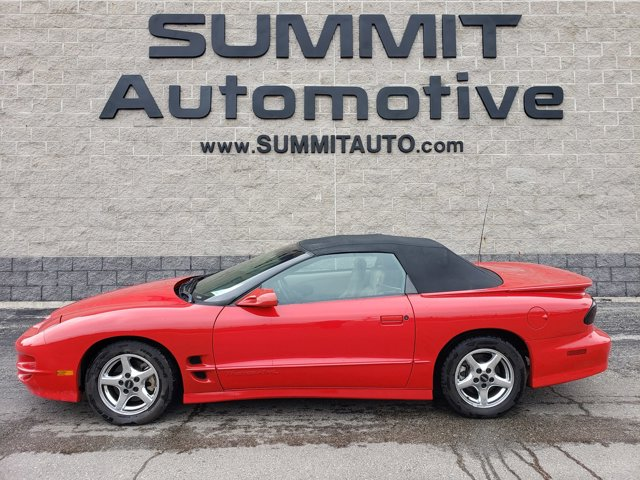 2002 Pontiac Firebird 2dr Conv Trans Am BRIGHT RED