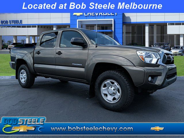 2014 Toyota Tacoma 2WD Double Cab V6 AT PreRunner GRAY