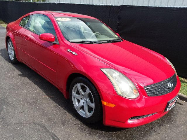 2004 Infiniti G35 Coupe 2D COUPE Cruise Control Climate Control