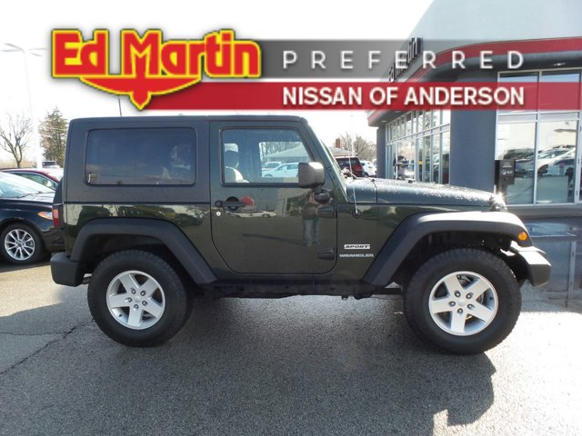 2010 Jeep Wrangler 4WD 2dr Sport Natural Green Pearl