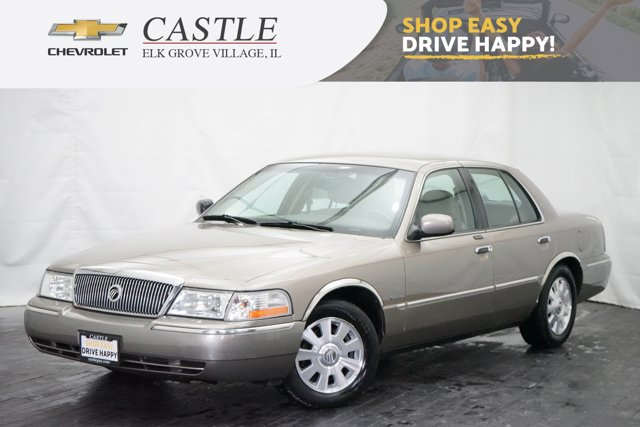 2003 Mercury Grand Marquis BEIGE Climate Control