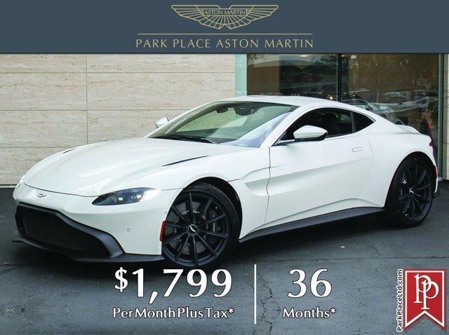 2020 Aston Martin Vantage 2-Door Coupe STRATUS WHITE