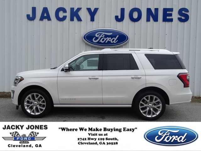 2019 Ford Expedition PLATINUM 4X4 WHITE