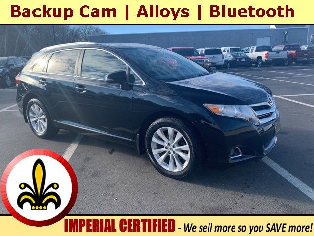 2013 Toyota Venza 4dr Wgn I4 AWD LE BLACK Bluetooth Connection