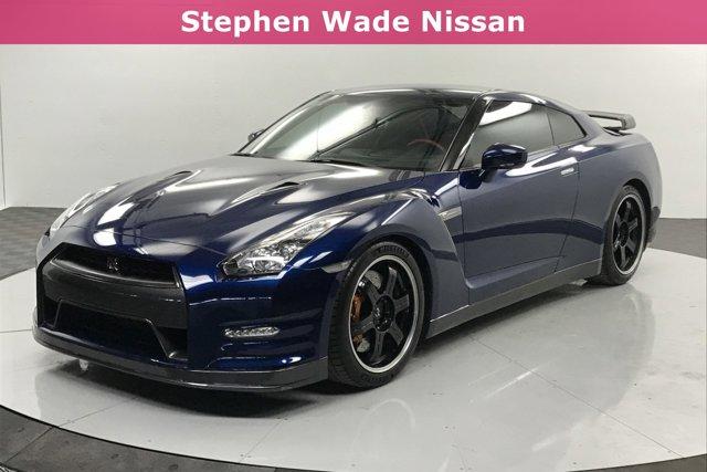 2014 Nissan GT-R 2dr Cpe Black Edition Deep Blue Pearl