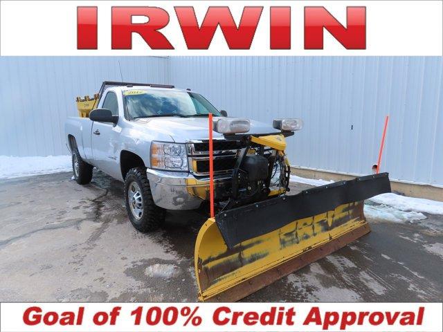 """2012 Chevrolet Silverado 2500HD 4WD Reg Cab 133.7"""" Work Truck"""
