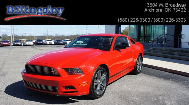 2014 Ford Mustang 2dr Cpe V6 Premium RACE RED Bucket Seats