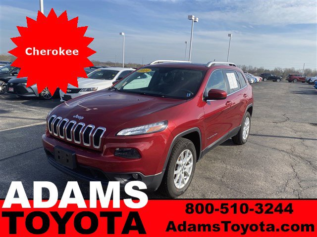 2014 Jeep Cherokee 4WD 4dr Latitude Deep Cherry Red Crystal