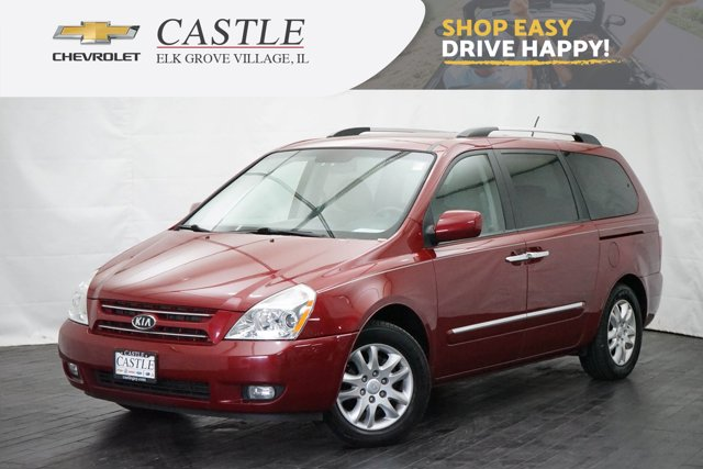 2010 Kia Sedona 4dr LWB EX CLARET RED Bucket Seats Brake Assist