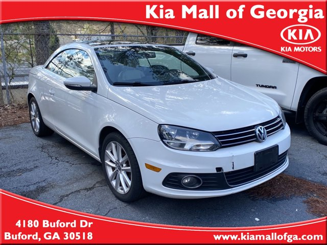 2012 Volkswagen Eos 2dr Conv Komfort Bucket Seats Brake Assist