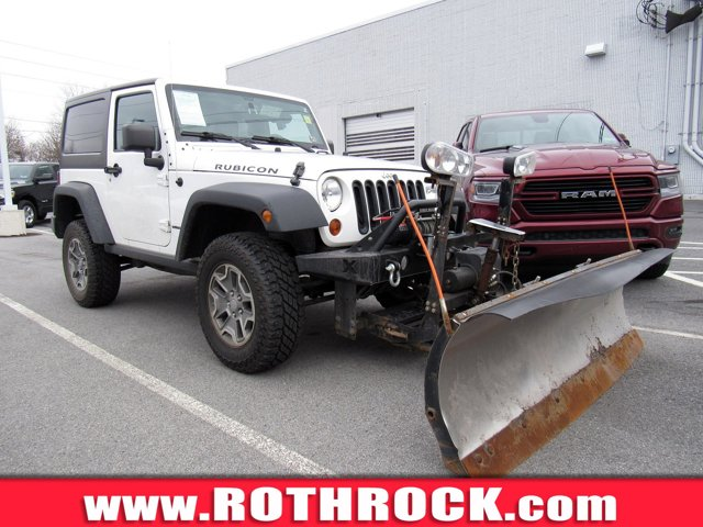 2013 Jeep Wrangler 4WD 2dr Rubicon BRIGHT WHITE