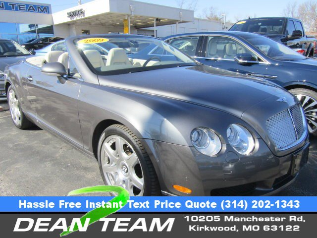 2009 Bentley Continental GT 2dr Conv SILVER LAKE