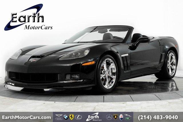 2013 Chevrolet Corvette 2dr Conv Grand Sport w/3LT BLACK