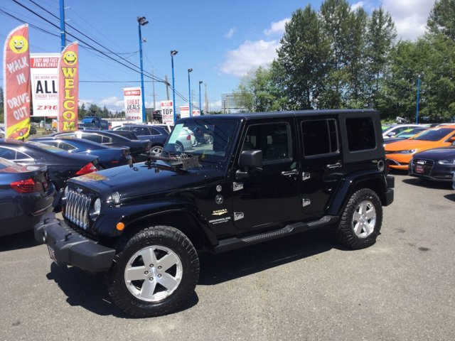 2008 Jeep Wrangler 4WD 4dr Unlimited Sahara BLACK