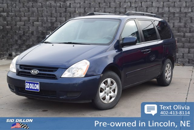 2008 Kia Sedona 4dr LWB LX VELVET BLUE Cloth Seats