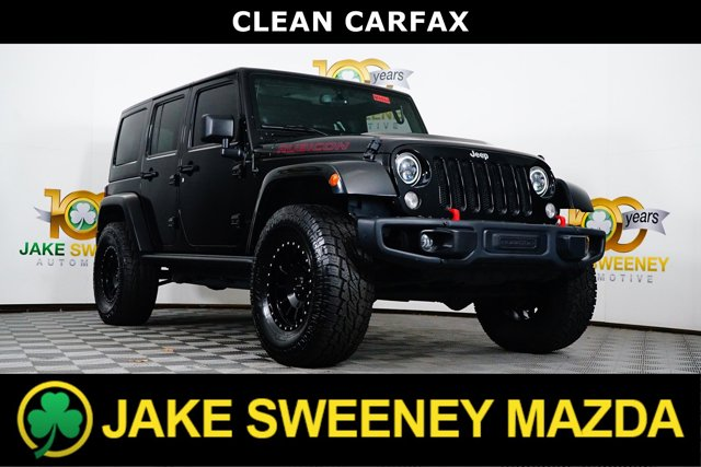 2014 Jeep Wrangler Unlimited 4WD 4dr Rubicon X BLACK CLEARCOAT