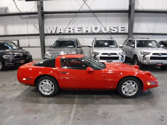 1996 Chevrolet Corvette 2dr Cpe TORCH RED Driver Air Bag
