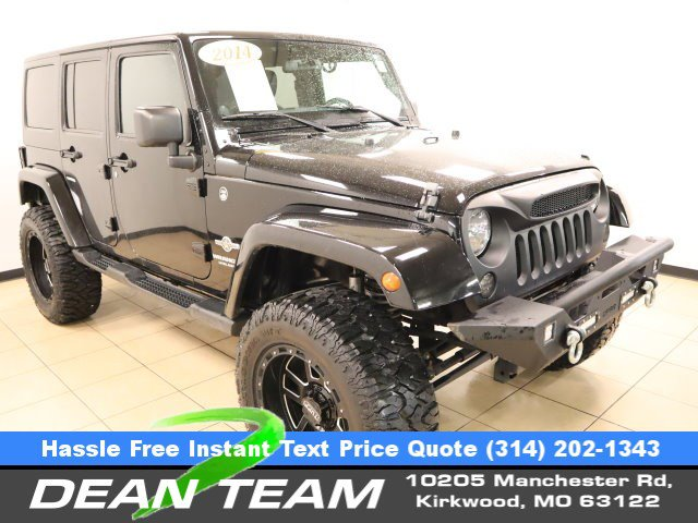 2014 Jeep Wrangler Unlimited 4WD 4dr Sport Freedom Edition BLAC