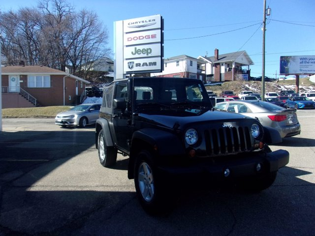 2008 Jeep Wrangler 4WD 2dr X BLACK Bucket Seats