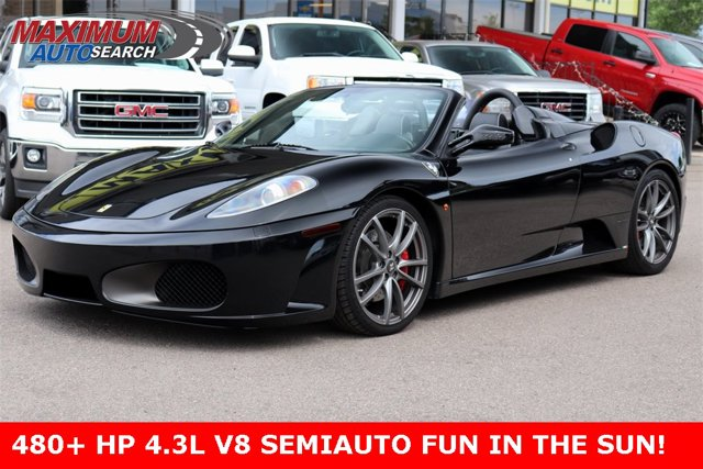 2007 Ferrari 430 2dr Convertible Spider BLACK Driver Air Bag