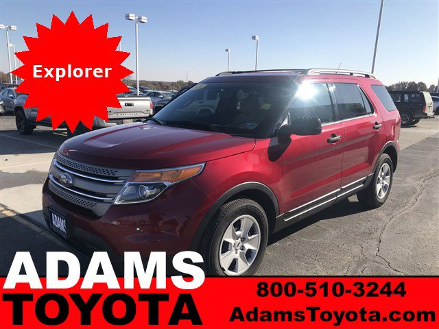 2014 Ford Explorer FWD 4dr Base Ruby Red Metallic Tinted