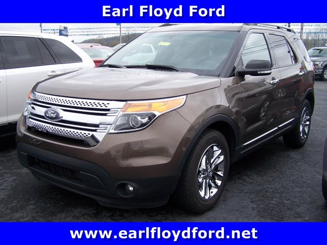 2015 Ford Explorer FWD 4dr XLT BROWN Brake Assist