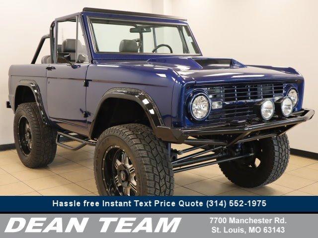 1969 Ford Bronco BLUE