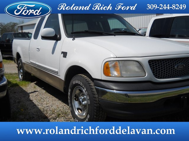 "1999 Ford F-150 Supercab 139"" XLT OXFORD WHITE"