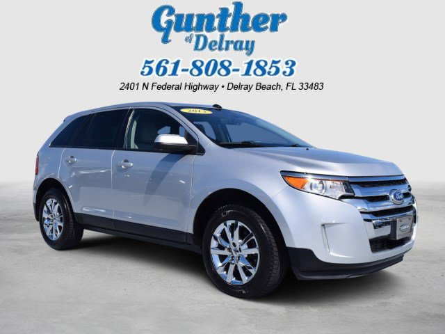 2013 Ford Edge 4dr SEL FWD GRAY Bucket Seats