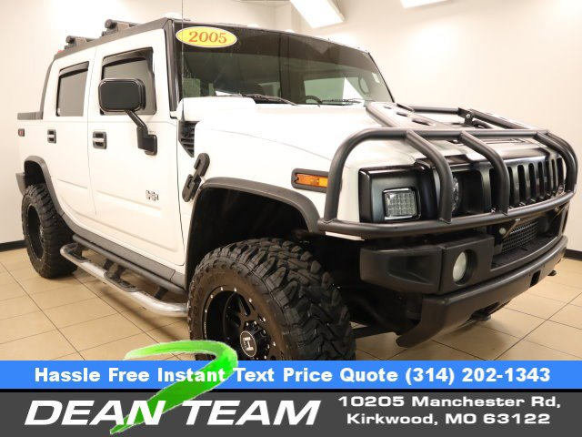 2005 HUMMER H2 4dr Wgn SUT WHITE Conventional Spare Tire