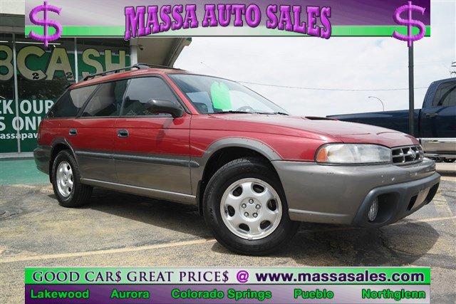 1997 Subaru Legacy Wagon RED Cassette Cargo Shade Bucket Seats